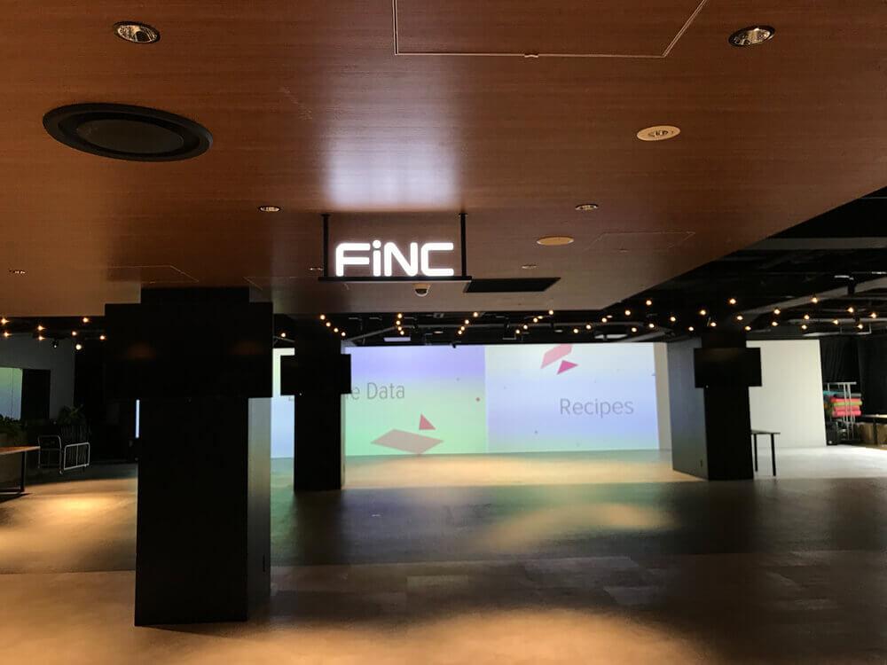 FiNCの別フロア