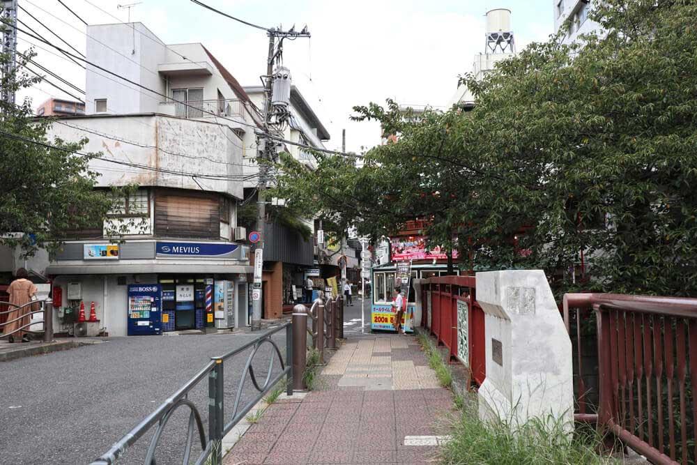中目黒駅からナイアジムへの道順